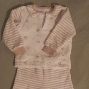 2-piece loungewear, quilted organic cotton, NEW